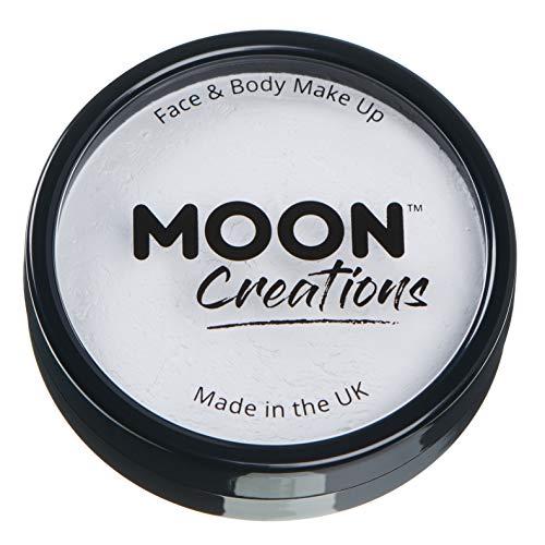 Moon Creations - Pittura Professionale per Viso ad attivazione ad Acqua - Bianco