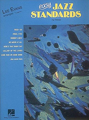 Lee Evans Arranges Easy Jazz Standards (PIANO)