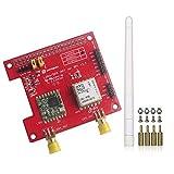 Stemedu Dragino LoRa - Gorro GPS (868 Mhz para Raspberry Pi 2 Modelo B/Raspberry Pi 3, sensor de temperatura incorporado LNA, compatible con DGPS SBAS SDK Command RFW95W