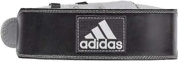 adidas Unisex Adult  Leather Lumbar Belt, Black, Medium, Adgb-12234