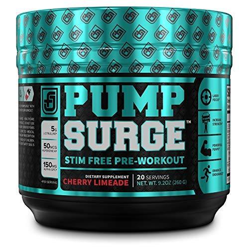 #2. Pump Surge Stim-Free Pre-workout