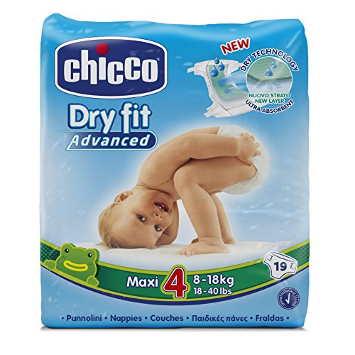 Chicco Dry Fit Advanced Set von 19Windeln Gr. 4Maxi