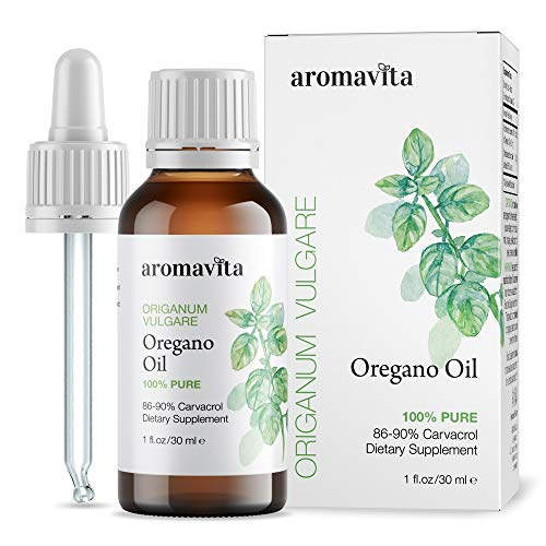 Aromavita Essential Oil of Oregano - 100% Pure Undiluted, Non GMO, Extra...