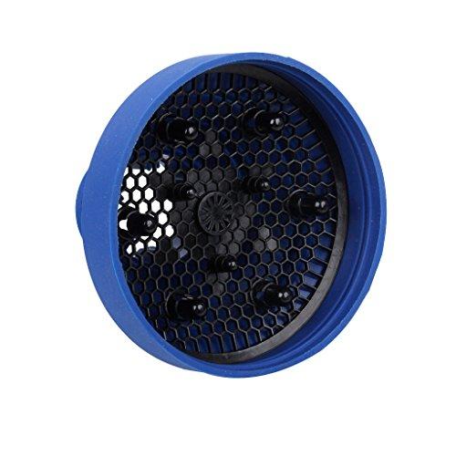 Diffuseur de Sèche-cheveux en Silicone Rétractable Portable Bleu