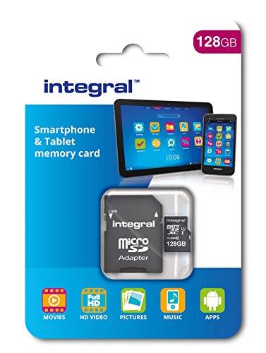 Integral INMSDH32G10-90SPTAB Scheda Micro SDHC ad alta velocità, 32 GB, per aggiornamento...