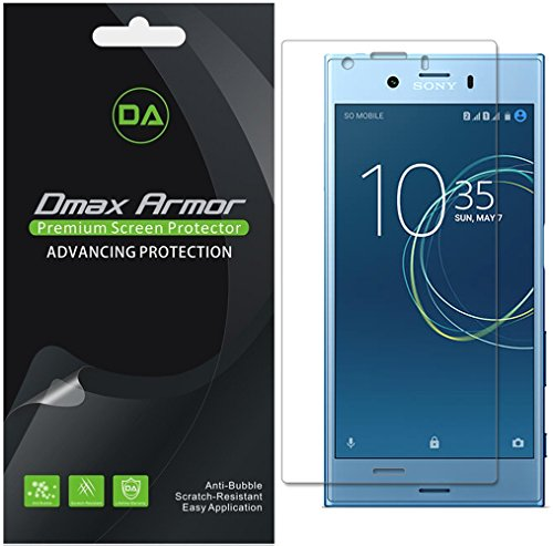 [6-Pack] Dmax Armor for Sony Xperia XZ1 Compact Anti-Glare & Anti-Fingerprint (Matte) Screen Protector