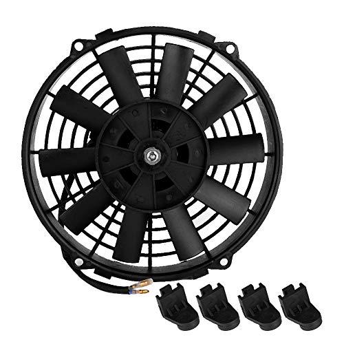 Fan del coche de Suuonee, 12V 24V 80W 9inch GM aire acondicionado motor electrónico ventilador piezas de auto para el dormitorio de coche de motocicleta