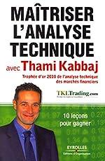 Maîtriser l'analyse technique avec Thami Kabbaj - 10 leçons pour gagner. de Thami Kabbaj