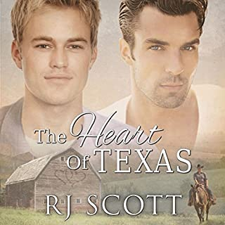 The Heart of Texas     Texas Series, Book 1              By:                                                                                                                                 RJ Scott                               Narrated by:                                                                                                                                 Sean Crisden                      Length: 7 hrs and 59 mins     53 ratings     Overall 4.6