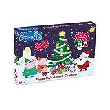 Peppa Pig Calendario de Adviento. 24 juguetes Peppa Pig de Navidad. Edad recomendada a partir a partir de los 3 años.