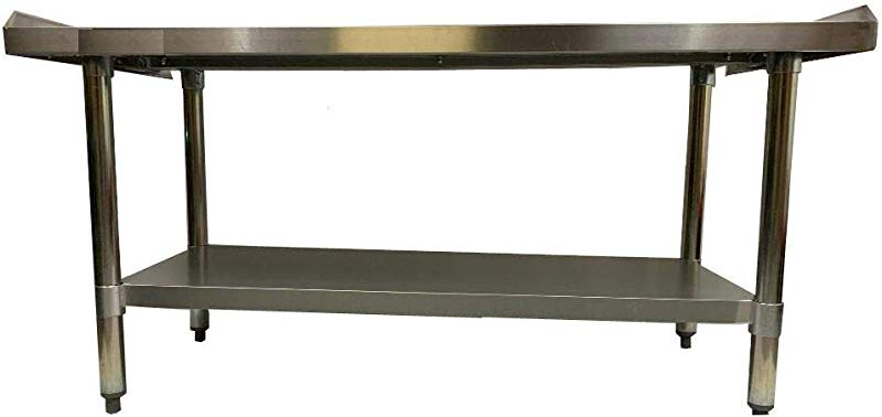 Stainless Steel Grill Equipment Stand 24 X 48 NSF Heavy Duty