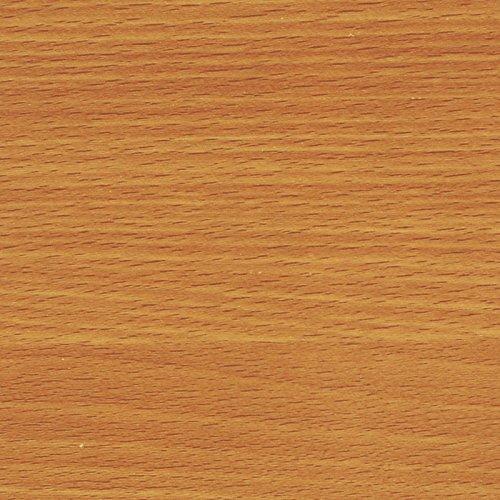 Kaiman Klebefolie Buche 200x45cm Holzoptik Dekofolie Selbstklebefolie Möbelfolie