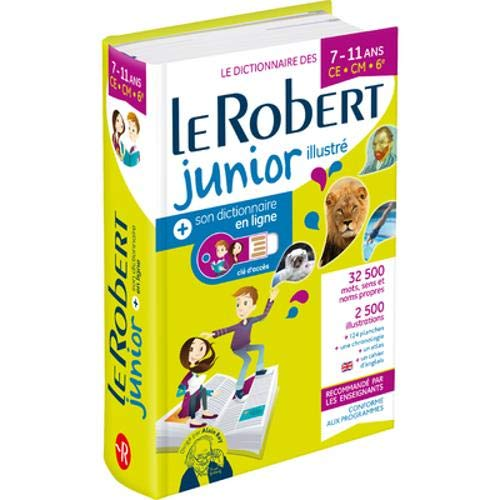 Image OfLe Robert Junior Illustre Et Son Dictionnaire En Ligne: Bimedia 2021: Includes Free Access To Le Robert Junior Online Dict...