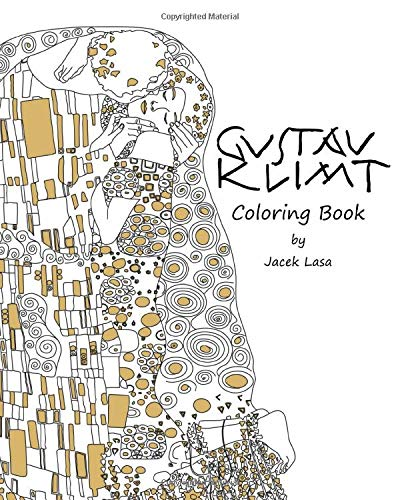 Gustav Klimt Coloring Book