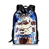 Dragon Ball Z School Bag Set Girls Boys Schoolbags Casual School Students Mochilas Bolsa Mochila 13 * 28 * 44Cm