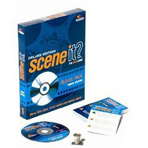 Scene it Deluxe Sequel DVD Movie Trivia Game by Screenlife