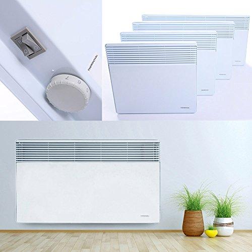 Konvektor Elektroheizung Heizgerät Heizkörper Heizung Elektro Heizer Wärme | 2000W
