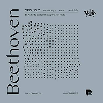 "Beethoven: Trio No. 7 in B-Flat Major, Op. 97 ""Archduke"": III. Andante cantabile ma però con moto"