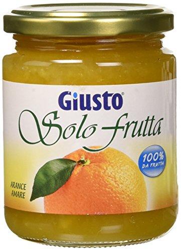 Solo Frutta Marmellata Arancio senza Zucchero