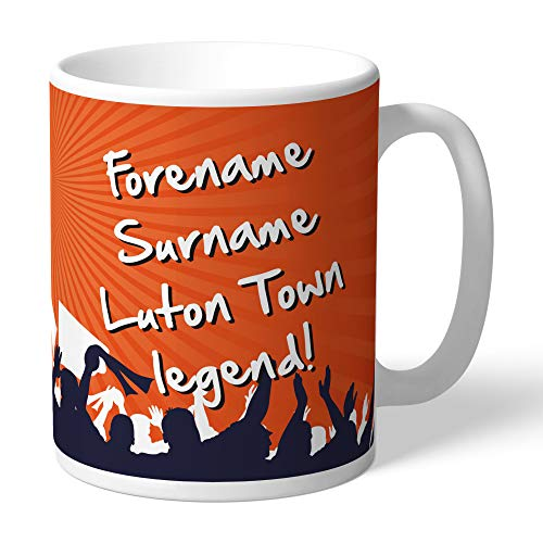 Luton Town FC Official Personalised Legend Mug