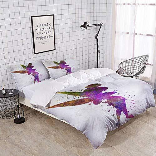 purple tinkerbell duvet cover