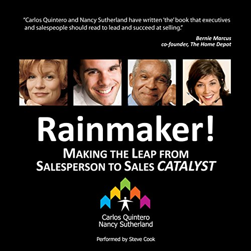 Rainmaker! audiobook cover art
