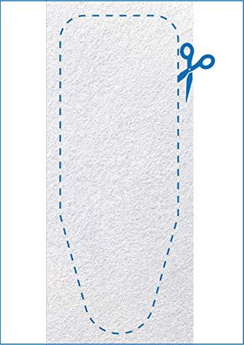 VINEL Bügelbrett Polsterung 140x55 cm - Die XXL Bügelbrett Unterlage Nr.1-100% Filz - Einfach selber zuschneiden ︎ Ideal für Dampfbügeleisen ︎ Ökotex Zertifikat ︎