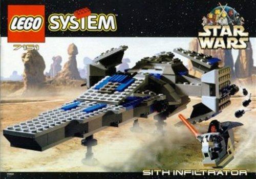 LEGO 7151 Star Wars Sith Infiltrator Episode1