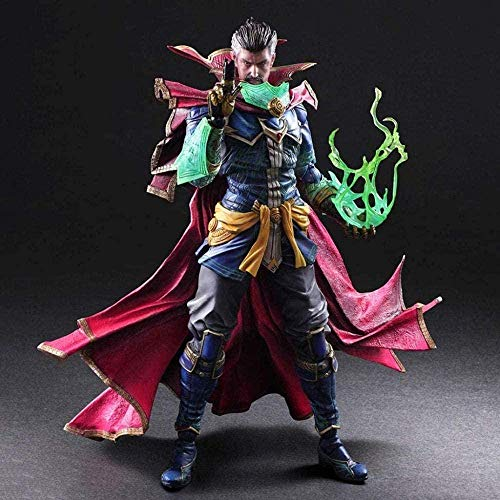 Mdcgok DC Heroes - Doctor Strange Atcion Figure Figure Collection by PA Kai - Equipped with Rich Weapons and Interchangeable Hands 10 6 Inches