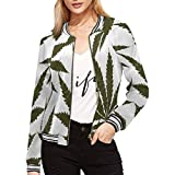 Dye-sublimation printing, Personalized all-over print full zip Jacket for Women. Each panel is cut and sewn together to ensure a flawless graphic. Heavy duty metal zip, two pouch pockets. Features drawstring long sleeves, ribbed stand-up collar, elas...