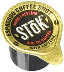 MORE COFFEE IN YOUR COFFEE: Add a SToK Cold-Brew Espresso Coffee Shot to your coffee for an extra kick to your morning fuel UNSWEETENED FLAVOR: Rich, unsweetened flavor that takes your coffee to another level COLD-BREW GOODNESS: Cold-brew done right,...