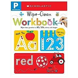 in budget affordable Pre-K Wipe-Clean Workbook: Scholastic Early Learners (Wipe-Clean Workbook)
