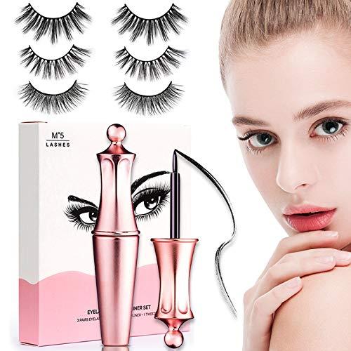 Magnetische Wimpern mit Eyeliner Coovee Magnetic 3D - Preisvergleich und Erfahrungsberichte