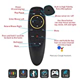 2.4G Voice Air Fly Mouse, Strqua G10 6 Axis Gyroscope IR Learning Air Remote Mouse for Android TV Box X88 Mini M8s A95x