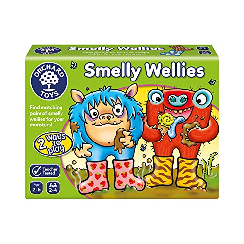 Orchard Toys Smelly Wellies G