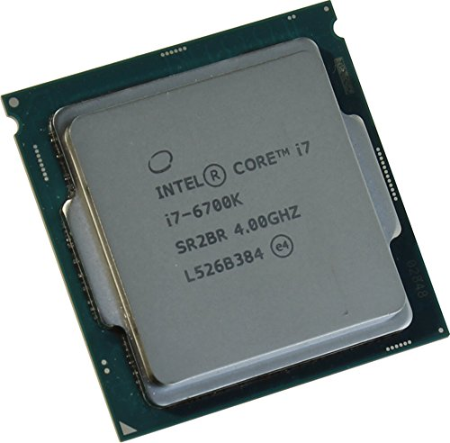 Intel Core i7–6700K