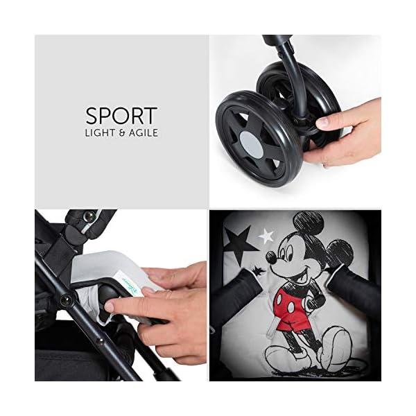 Sport- Disney Mickey Stars Light Stroller Hauck genuine original 7
