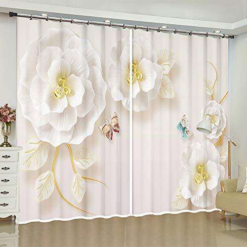cortinas habitacion blancas opacas