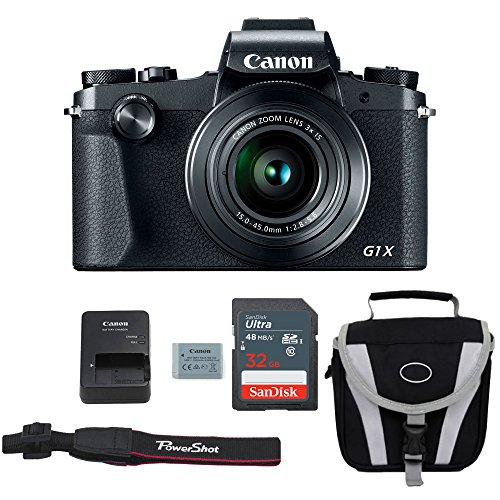 Canon G1X Mark III Digital Camera Bundle + Advanced Accessory Kit - Including to Get...