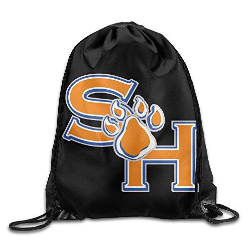Drawstring Tote Backpack Bag Sam Houston State University