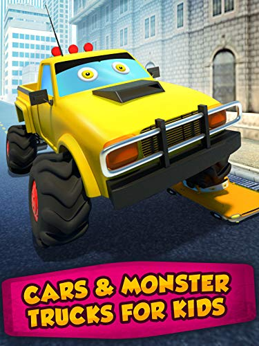 Cars & Monster Trucks For Kids