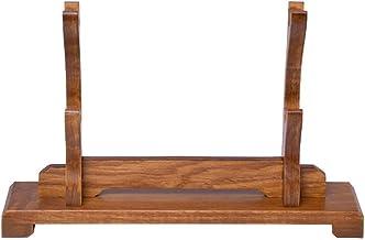 Zwaardhouder Solid Wood Display Houder Stand for Samurai Sword Katana Wakizashi Zwaardstandaard (Color : 2 Layer, Size : 2...
