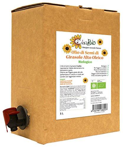 OLIO DI GIRASOLE BAG-IN-BOX 5L (CiaoBio)