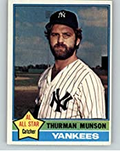 1976 Topps #650 Thurman Munson Yankees NR-MT 356102 Kit Young Cards