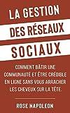 La gestion des réseaux sociaux: ...