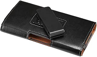 DFV mobile - Executive Holster Leather Case Belt Clip Rotary 360 Magnetic Closure for Alcatel One Touch Idol Alpha 6032X -...