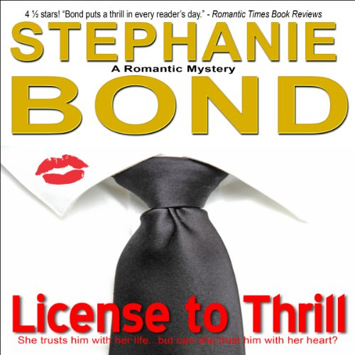License to Thrill audiobook cover art