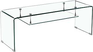 Meubletmoi - Mueble de TV de Cristal Transparente - Estante