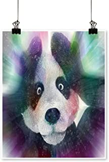 Wall Decor Sick Character Panda Bamboo Junkie Experiencing Strong hallucinations Wall Art for Bedroom Home,20