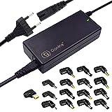 e-port24 - Fuente de alimentación Universal para portátil, 90 W, 15-20 V, 16 Puertos, Compatible con portátiles Toshiba HP/Compaq Acer IBM Hasee